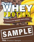 DynaWhey Chocolate-Banana Explosion 36 g - SAMPLE