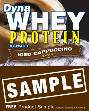 DynaWhey Iced Cappuccino 36g - SAMPLE