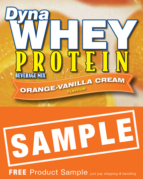 DynaWhey Orange-Vanilla Delight  36 g - SAMPLE