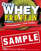DynaWhey Strawberry-Kiwi Burst  36 g - SAMPLE